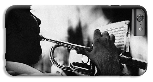 Trumpet iPhone 6s Plus Case - Just Follow My Lead by Rui Correia