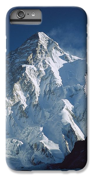 Mountain iPhone 6s Plus Case - K2 At Dawn Pakistan by Colin Monteath