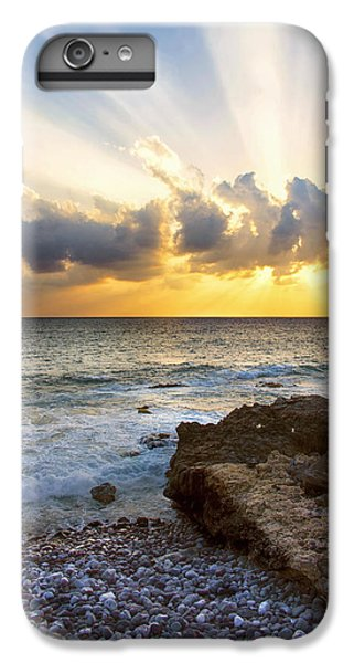 Ocean Sunset iPhone 6s Plus Case - Kaena Point State Park Sunset 2 - Oahu Hawaii by Brian Harig