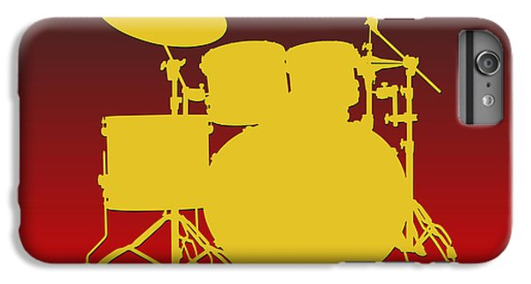 Kansas City Chiefs Drum Set IPhone 6s Plus Case by Joe Hamilton