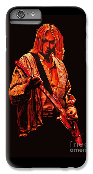 Kurt Cobain Painting IPhone 6s Plus Case by Paul Meijering