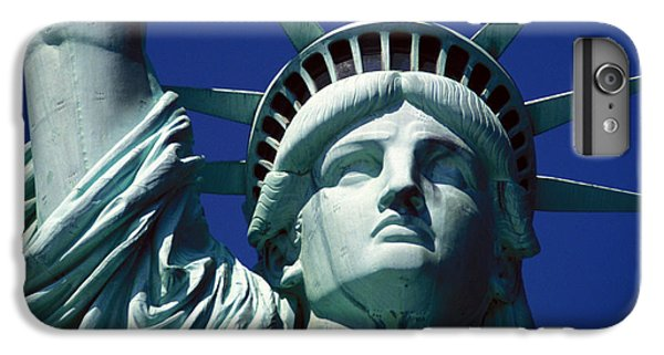 Central Park iPhone 6s Plus Case - Lady Liberty by Jon Neidert