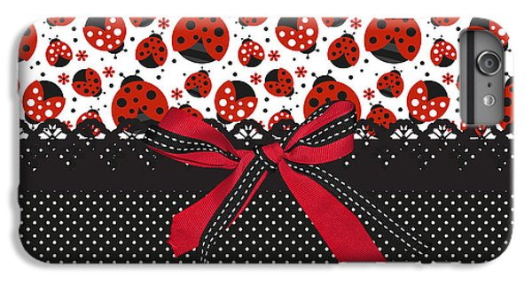 Ladybug Energy  IPhone 6s Plus Case by Debra  Miller