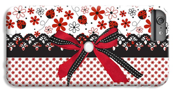 Ladybug Whisper  IPhone 6s Plus Case by Debra  Miller