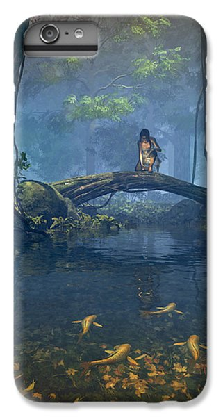 Lantern Bearer IPhone 6s Plus Case by Cynthia Decker