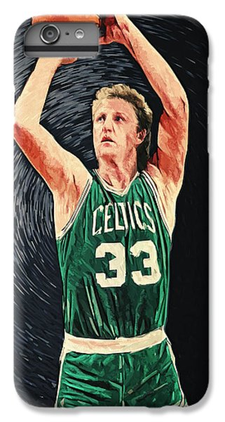 Larry Bird IPhone 6s Plus Case by Taylan Apukovska