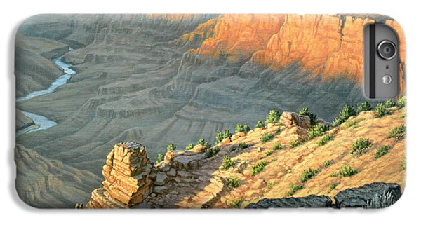 Grand Canyon iPhone 6s Plus Case - Late Afternoon-desert View by Paul Krapf