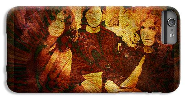 Jimmy Page iPhone 6s Plus Case - Led Zeppelin - Kashmir by Absinthe Art By Michelle LeAnn Scott