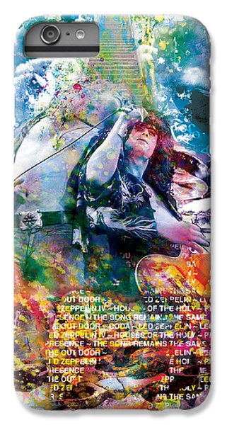 Led Zeppelin Original Painting Print  IPhone 6s Plus Case