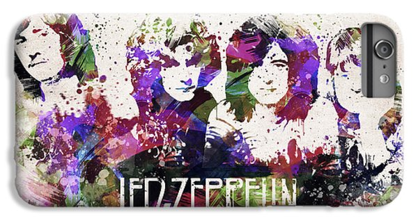 Led Zeppelin Portrait IPhone 6s Plus Case by Aged Pixel