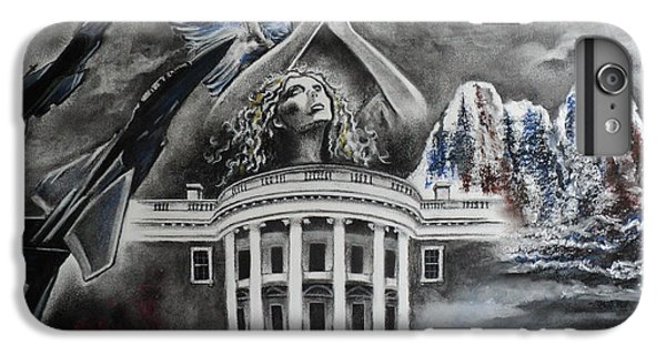 Whitehouse iPhone 6s Plus Case - Let Freedom Ring by Carla Carson