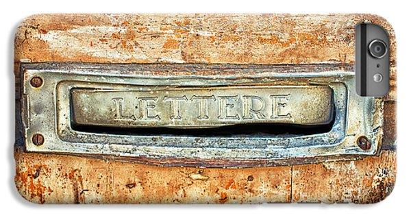 Lettere Letters IPhone 6s Plus Case