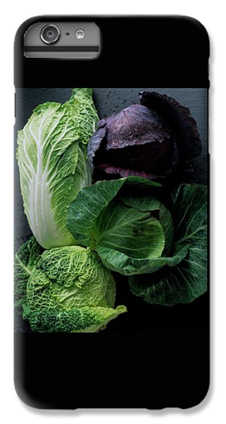 Cabbage iPhone 6s Plus Case - Lettuce by Romulo Yanes