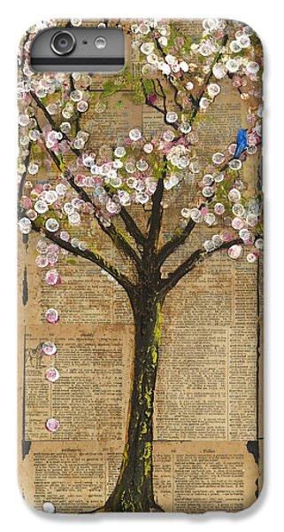 Bluebird iPhone 6s Plus Case - Lexicon Tree Of Life 3 by Blenda Studio