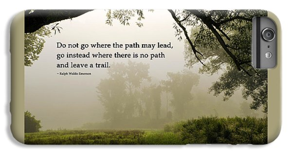Life's Path Inspirational Art IPhone 6s Plus Case