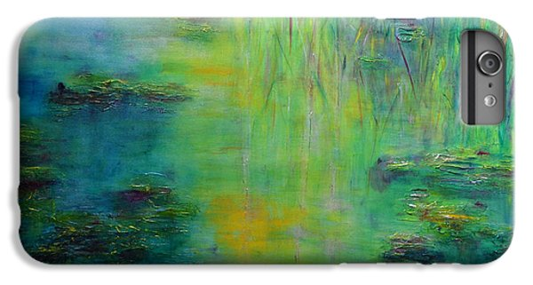 Lily Pond Tribute To Monet IPhone 6s Plus Case by Claire Bull