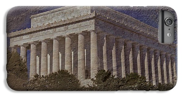 Whitehouse iPhone 6s Plus Case - Lincoln Memorial by Skip Willits