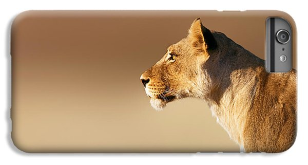Lioness Portrait IPhone 6s Plus Case