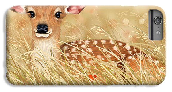 Deer iPhone 6s Plus Case - Little Fawn by Veronica Minozzi