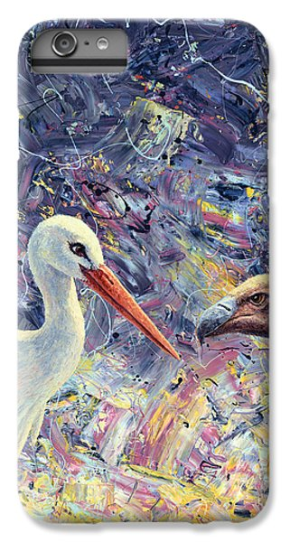 Living Between Beaks IPhone 6s Plus Case by James W Johnson