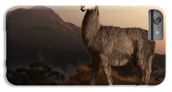 Llama Dawn IPhone 6s Plus Case by Daniel Eskridge
