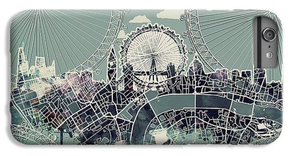 London Skyline Vintage IPhone 6s Plus Case