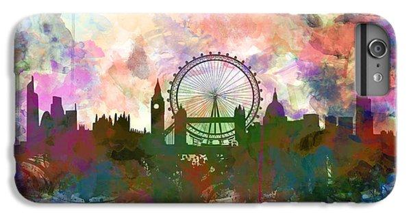 London Skyline Watercolor IPhone 6s Plus Case