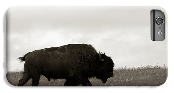 Lone Bison IPhone 6s Plus Case by Olivier Le Queinec