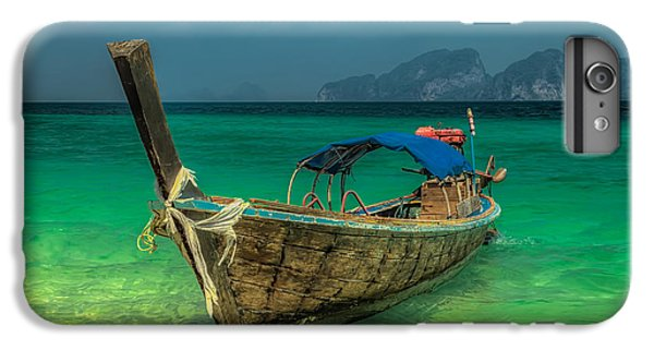 Boat iPhone 6s Plus Case - Longboat by Adrian Evans
