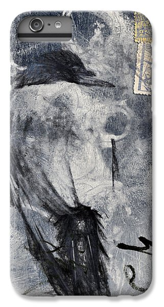 Blackbird iPhone 6s Plus Case - Looking Eastward by Carol Leigh