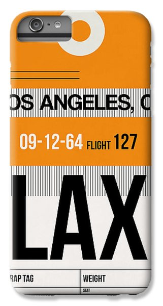 Los Angeles iPhone 6s Plus Case - Los Angeles Luggage Poster 2 by Naxart Studio