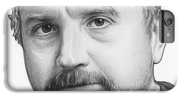 Louis Ck Portrait IPhone 6s Plus Case by Olga Shvartsur