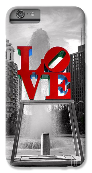 Love Isn't Always Black And White IPhone 6s Plus Case by Paul Ward