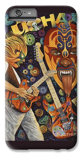 Van Halen iPhone 6s Plus Case - Lucha Rock by Ricardo Chavez-Mendez