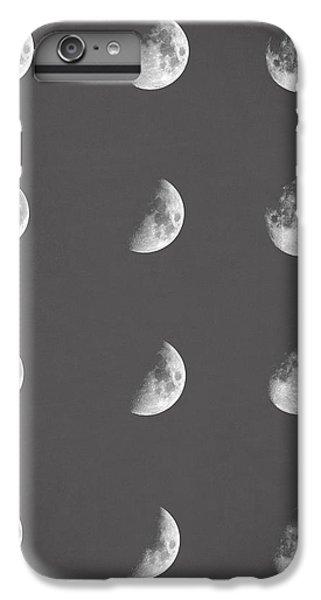 Space iPhone 6s Plus Case - Lunar Phases by Zapista Zapista