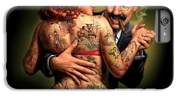 Hot iPhone 6s Plus Case - Lydia The Tattooed Lady by Mark Fredrickson