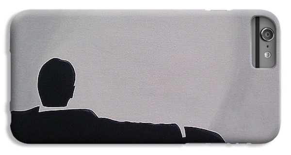 Time iPhone 6s Plus Case - Mad Men In Silhouette by John Lyes