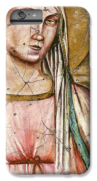 Bogdanoff iPhone 6s Plus Case - Madonna Del Parto - Study No. 1 by Steve Bogdanoff