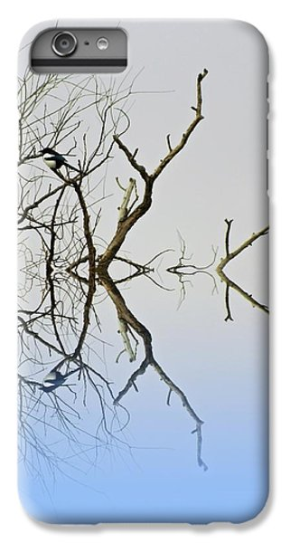 Magpie IPhone 6s Plus Case by Sharon Lisa Clarke