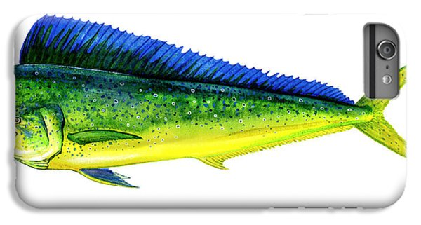 Dolphin iPhone 6s Plus Case - Mahi Mahi by Charles Harden