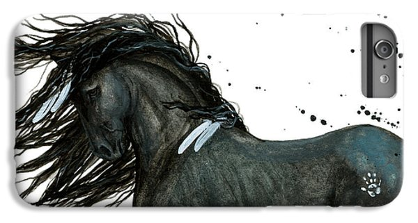 Majestic Friesian Horse 112 IPhone 6s Plus Case by AmyLyn Bihrle