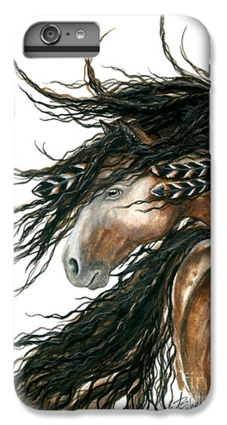 Horse iPhone 6s Plus Case - Majestic Pinto Horse 80 by AmyLyn Bihrle
