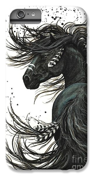 Horse iPhone 6s Plus Case - Majestic Spirit Horse  by AmyLyn Bihrle