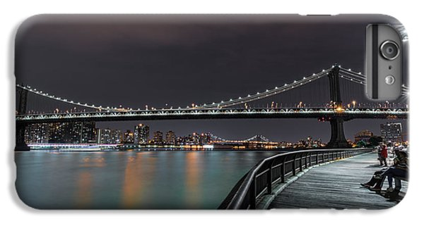 Manhattan Bridge - New York - Usa 2 IPhone 6s Plus Case by Larry Marshall
