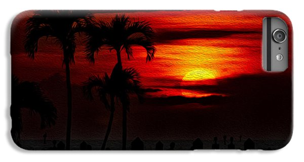 IPhone 6s Plus Case featuring the photograph Marco Island Sunset 59 by Mark Myhaver