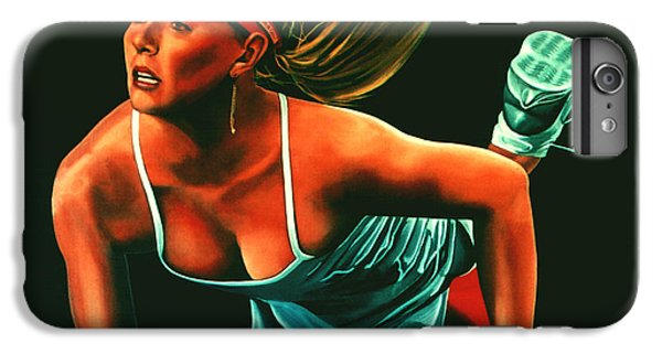 Maria Sharapova  IPhone 6s Plus Case by Paul Meijering