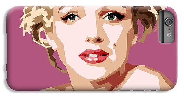 Marilyn IPhone 6s Plus Case by Douglas Simonson