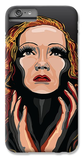 Liz Taylor iPhone 6s Plus Case - Marlene Dietrich Hollywood The Golden Age by Larry Butterworth