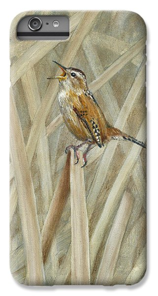 Wren iPhone 6s Plus Case - Marsh Melody by Dreyer Wildlife Print Collections