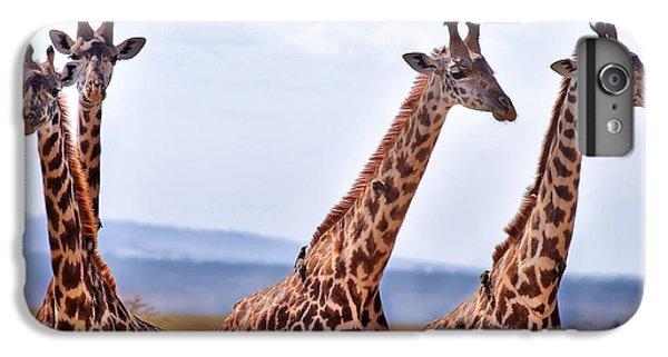 Zebra iPhone 6s Plus Case - Masai Giraffe by Adam Romanowicz